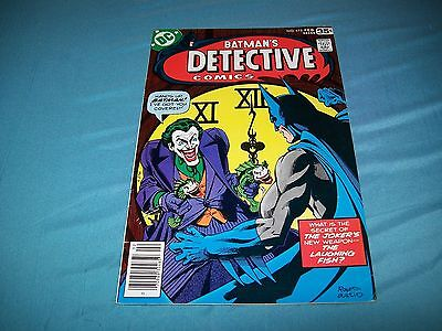 Detective 475 Classic Marshall Rogers Joker Laughing Fish Cover!