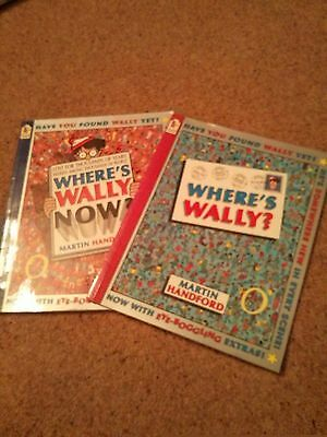 2 x Where's Wally books - Where's Wally and Where's Wally Now