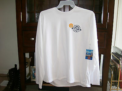 BNWT Mens XL ( 46-48) All American Fishing UPF Sun Protection Moisture T-Shirt