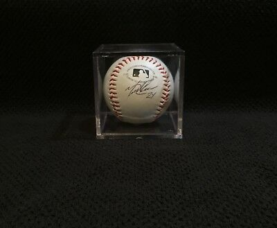 Miguel Cabrera Autographed Detroit Tigers Rawlings Baseball - Cube Included