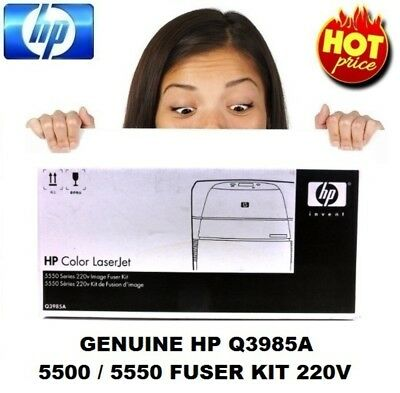 Genuine HP Q3985A Fuser Image Kit 220V For Color LaserJet 5500 / 5550