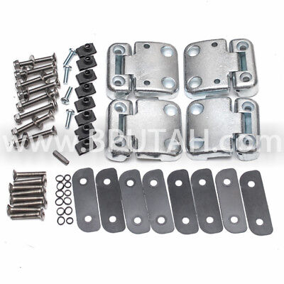 POZI Land Rover Defender 90//110 Rear Passenger Door Hinge Screws Stainless Stl