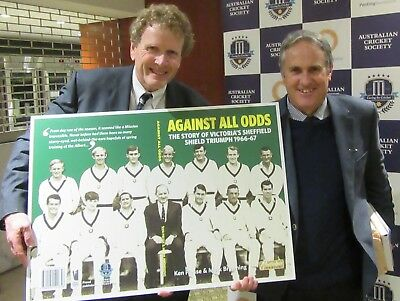 Against All Odds, the 1966-67 victorious Vics. Limited Edition SENT POST FREE