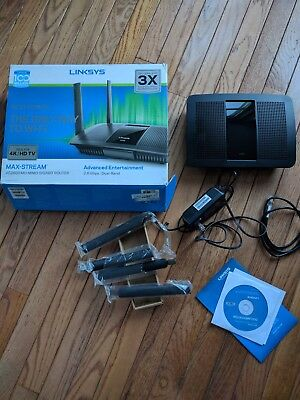 LINKSYS EA8500 AC2600 MaxStream Dual-Band 5GHz+2.4GHz MU-MIMO WiFi Router