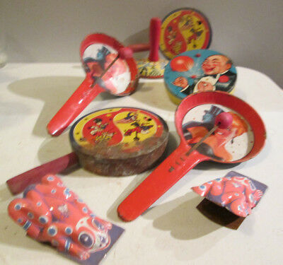 Vintage New Years Noise Makers