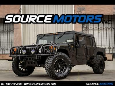 2001 Hummer H1 Open Top 2001 Hummer H1 Open Top, Method Wheels, 4x4, Turbo Diesel, Leather Seats