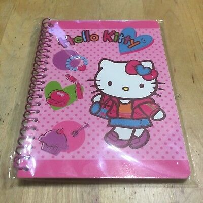 Nip Sanrio Hello Kitty Note Book Vintage 2006