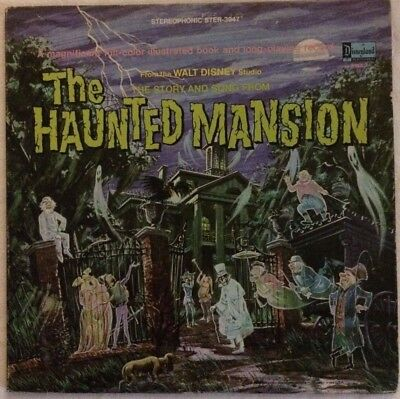 The Haunted Mansion From the Walt Disney Studio. The Story and Song 1969 33 Viny