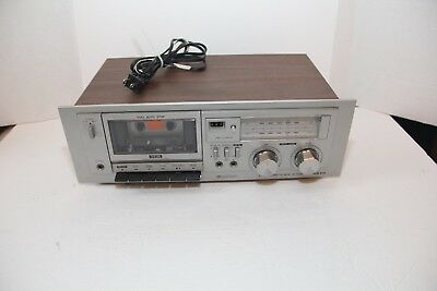 Sanyo RD 5009 Stereo Cassette Deck Read!