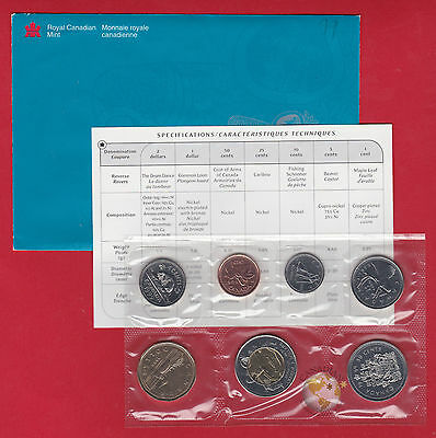 1999 - - Nunavut PL Set -  - Canada RCM Proof Like Mint - With COA and Envelope