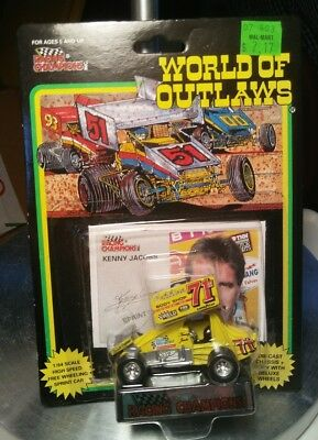 Racing Champions Kenny Jacobs World of Outlaws 71M Weld Sprint Car Dirt 1993