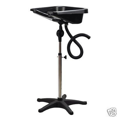 Portable Hairdressing Backwash Hair Basin Shampoo Basin Mobile Heavy Duty