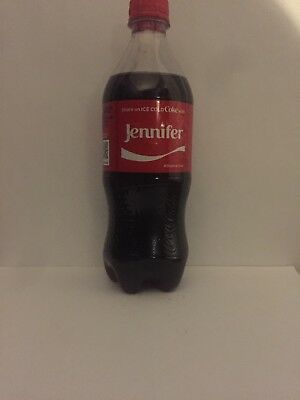 Share A Coke With Jennifer Personalized Name Coca Cola Collectible Bottle.