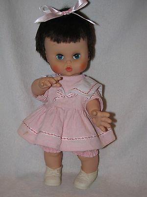 """Vintage 15"""" Vinyl Little Girl Doll Made By Jolly Toys Inc 1966"""