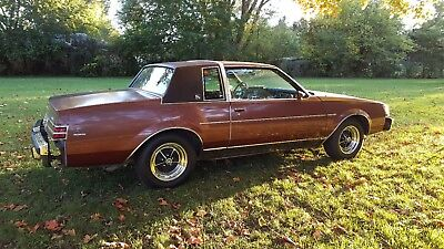 1987 Buick Regal  1987 Buick Regal Limited T-Type 87 G Body