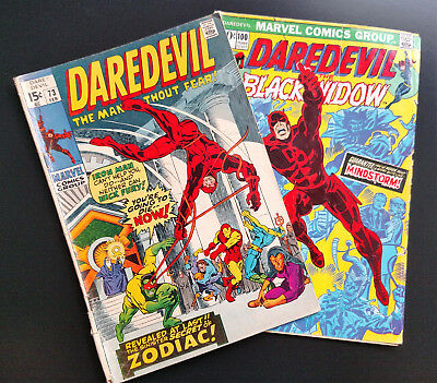 Daredevil 73 & 100, Featuring the art of Gene Colan