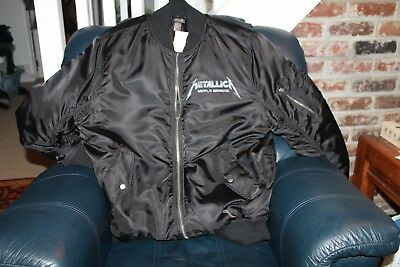 Metallica - Tour Jacket 2010 - Rare sold out XL Bomber Jacket