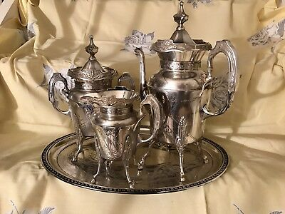 Wilcox Silver Plated 139 Tea Set