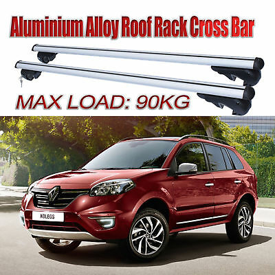 Roof Rack Cross Bars For Renault Koleos 2008-2015 With Rised Roof Rails