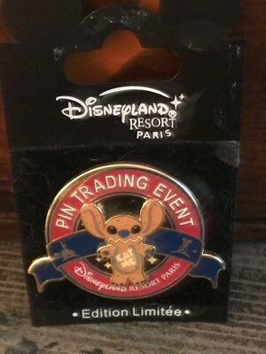 Disneylad Paris - Stitch as a Gingerbread Pin- LE 400