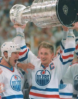 Wayne Gretzky Mark Messier 8 X 10 Photo Mint NHL Edmonton Oilers Stanley Cup