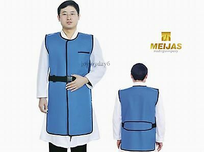 SanYi New Type X Ray Protection Protective Lead Vest 0.35mmpb Blue FA05 Middle