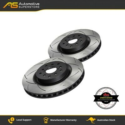 DBA4661S Brake Disc Rotor Pair 4X4 Survival Series 4000 T3 Slotted DBA