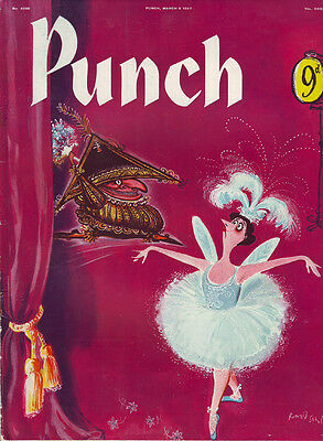 Punch    No 6080 March 6th 1957