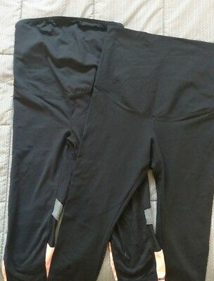 2 X Small Maternity Gym Tights - Size Small