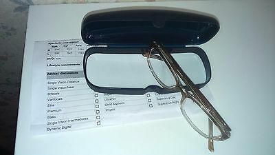 TESCO prescription glasess, R+L Cyl-0.25, new never worn before,ordered wrong
