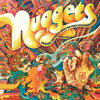 Nuggets Artyfacts Psychedelic Era 1965-1968 Various Artists 2x 180g vinyl LP