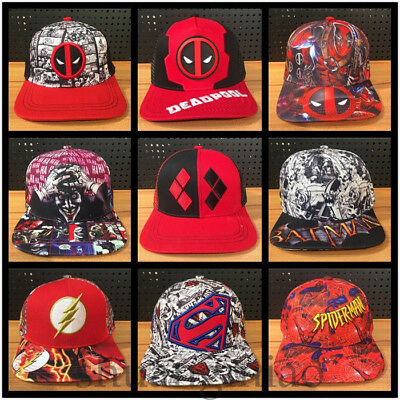 Lot Colorful Hats Cosplay Cartoon Marvel Superheros Cup Hats Halloween Gift