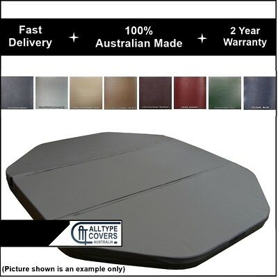 Australian Made (3-Piece) Outdoor Swim Spa Pool Hard Hot Tub Cover-Various Sizes