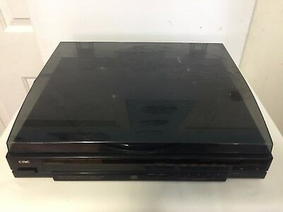 CDC 5 Disc Compact Disc Player Turntable - CH5000R