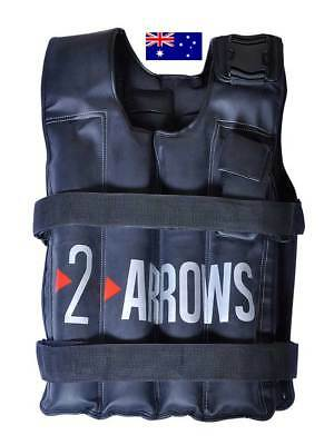 Weighted Vest Adjustable Weight Vests MMA Gym Crossfit Training Exercise 20kg