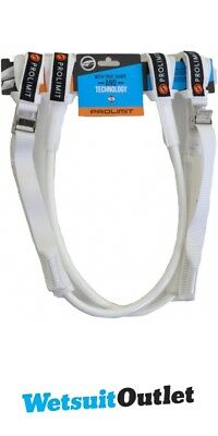 2017 Prolimit WC Harness Lines Vario Buckle - White 26-34 76065