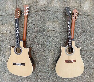 6 String Acoustic / 6 String Classical, Electric Double Sided Busuyi Guitar