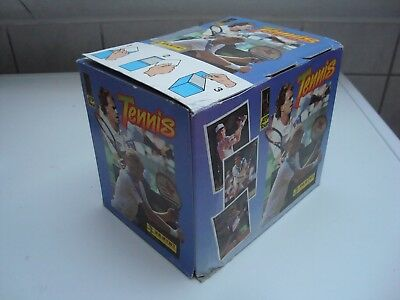 Panini / Tennis ATP 92 / Volles Display (full box) 100 Tüten, packets / 1992 OVP