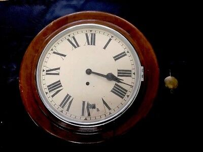 Vintage NORLAND Antique RARE Clock Suit Fusee Wall Grandfather Clock Mahogany