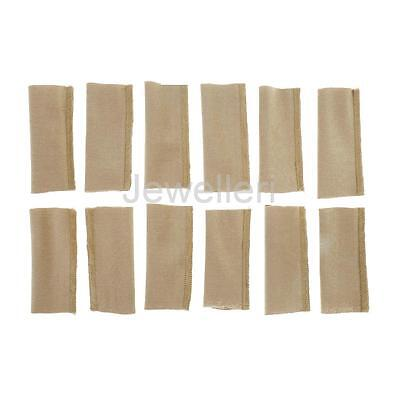 12pc Nylon Finger Skin Protection Outdoor Fly Fishing Stripping Guards Cover