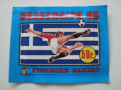 Panini / Football 80 / 1 Tüte, bustina, bag / Griechenland 1980 / OVP / TOP!