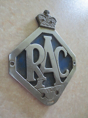 1960s RACV car badge Holden Chrysler Valiant Ford Falcon Austin Morris VW Kombi