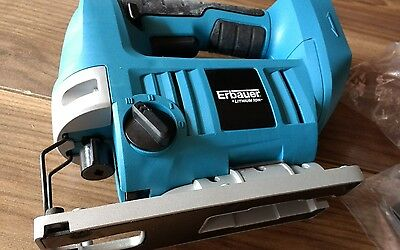 New boxed Erbauer 18V Cordless Jigsaw  ERI219JSW - RRP £70 BARE NO BATTERY