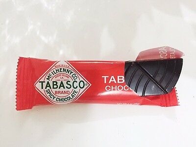 2 x USA TABASCO Dark Spicy Chocolate 28g each
