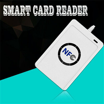 LED NFC Smart Card Contactless Smart Reader Writer/USB w 5Pcs Mifare IC Cards