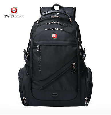 WENGER SWISSGEAR 17 inch Swiss Laptop Backpack Outdoor Travel Rucksack New bag