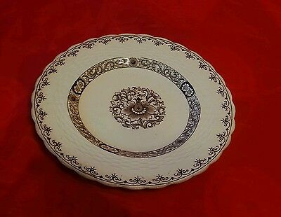 """1881? Minton's Minton Pottery Plate In White Ganges Pattern 9"""" Diam Side Plate ?"""