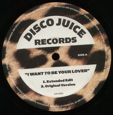 "Prince - I Want To Be Your Lover (Extended Edit) (Uk 12"" Single)"