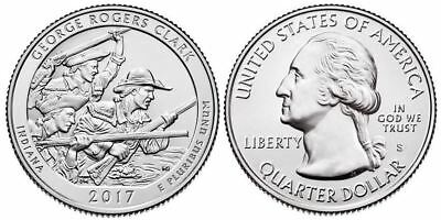 "2017 George Rogers Clark National Park In ""s"" Mint - Presale"