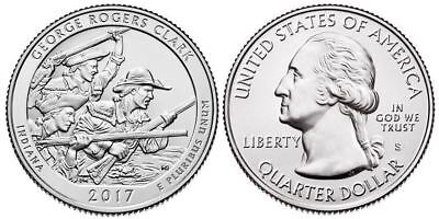 "2017 George Rogers Clark National Park In ""s"" Mint - Available Now"